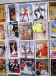 Открытки в стиле pin-up в сувенирных лавках на Монмартре