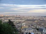 Панорама Парижа от подножья Сакре-Кёр